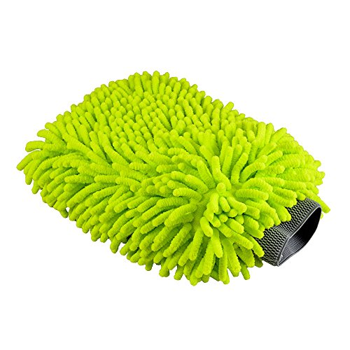 Top 10 Chenille Microfiber Premium - Cleaning Drying Mitts
