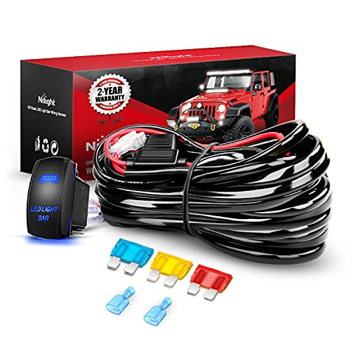 Top 10 Light Bar Wiring Harness Kit 1 Lead - Automotive Replacement Electrical Wiring Harnesses